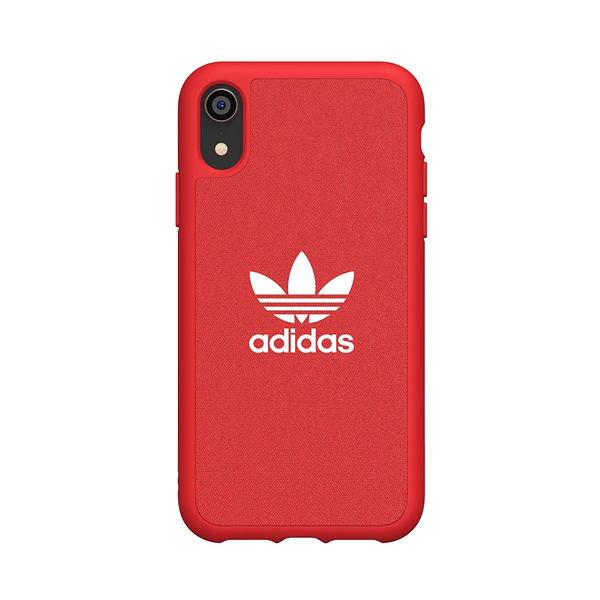 ADIDAS CAPA OR MOULDED CASE ADICOLOR IPHONE XR RED